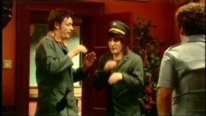 Howard and Vince in the pilot episode